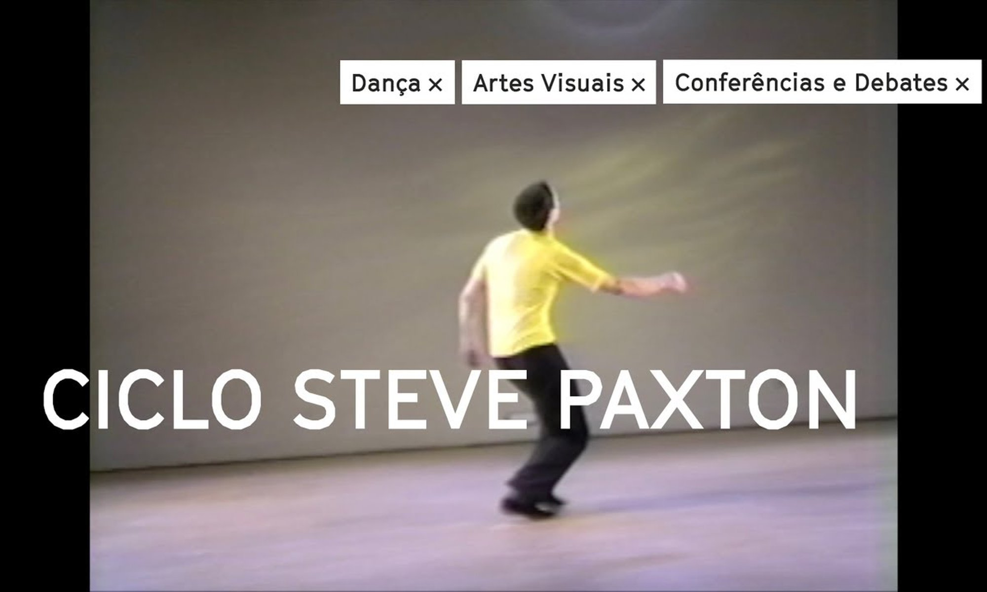 Ciclo Steve Paxton na Culturgest
