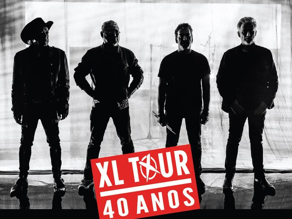 XUTOS & PONTAPÉS, XL TOUR - 40 years